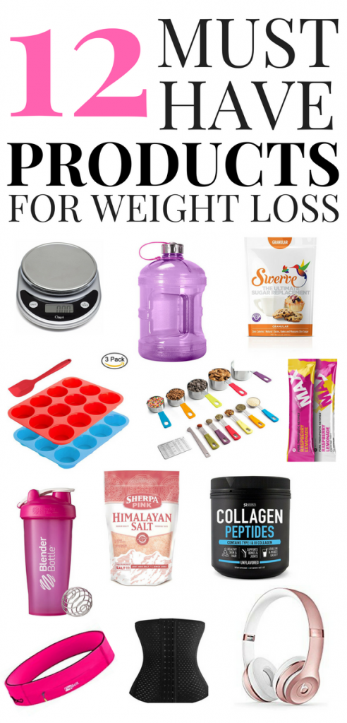 Must Have Products for Weight Loss