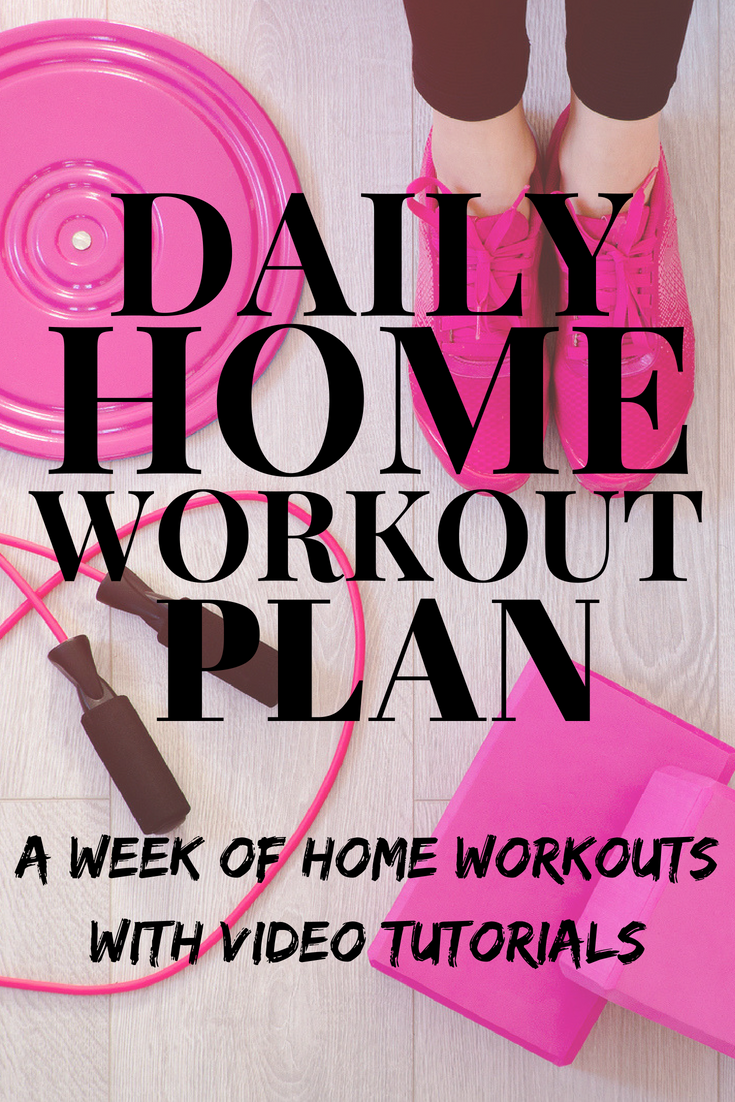 Daily Home Workout Plan
