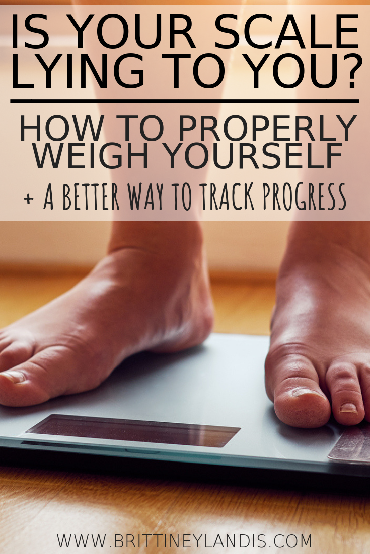 HOW TO PROPERLY WEIGH YOURSELF