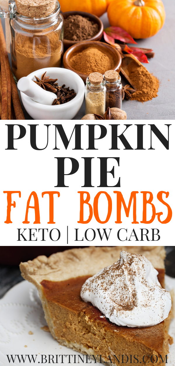 Pumpkin Pie Fat Bombs