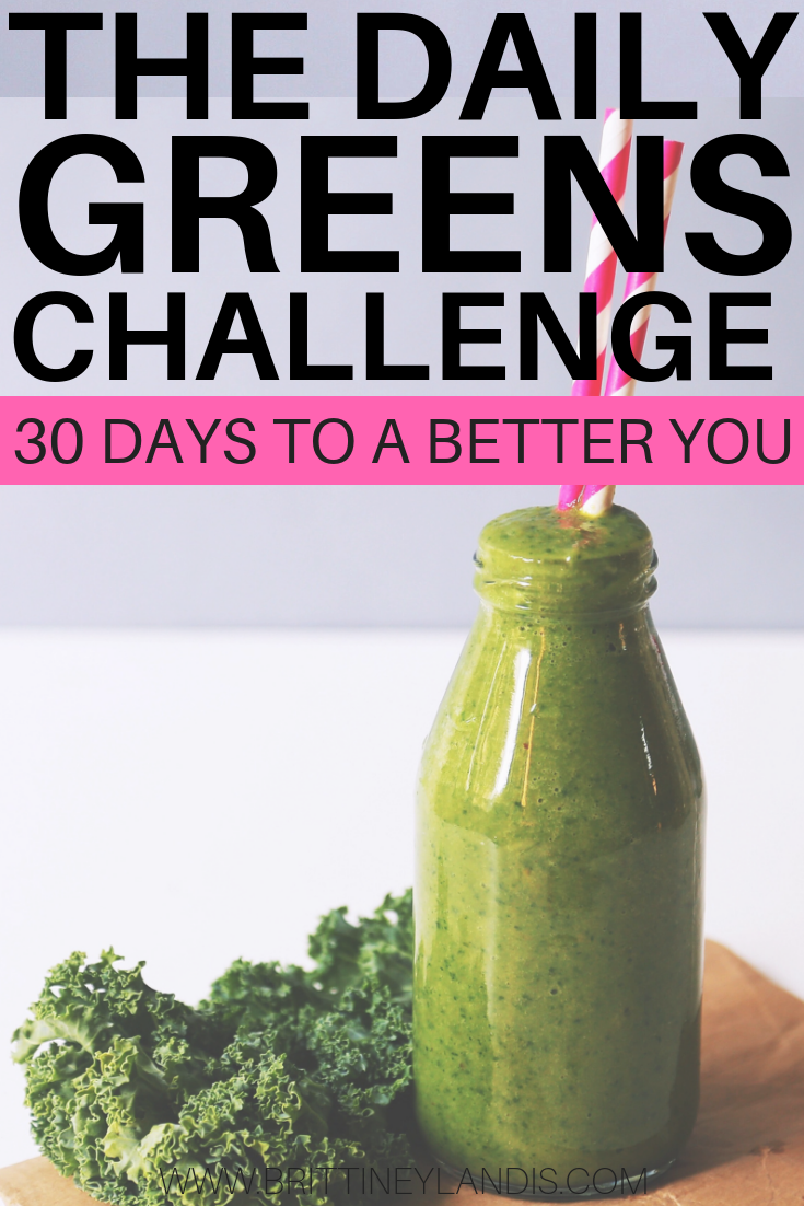 daily greens challenge